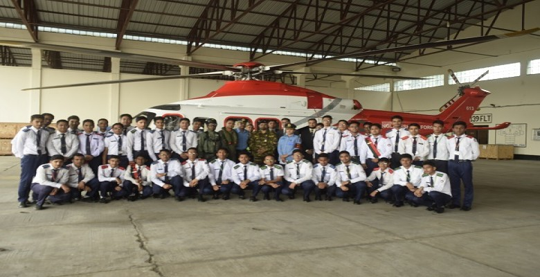 Study tour at Bangladesh Air Force Academy